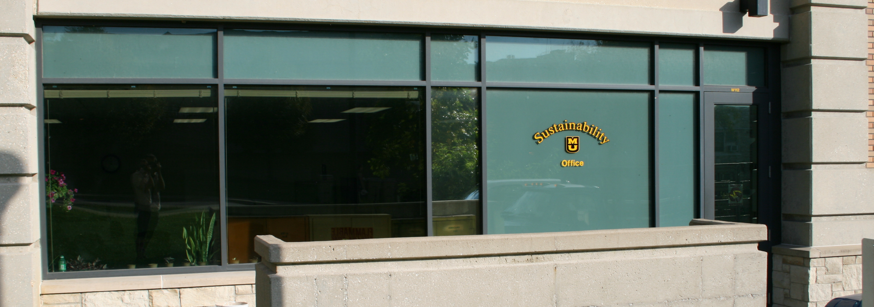 Outdoor view of the MU Sustainability Office.